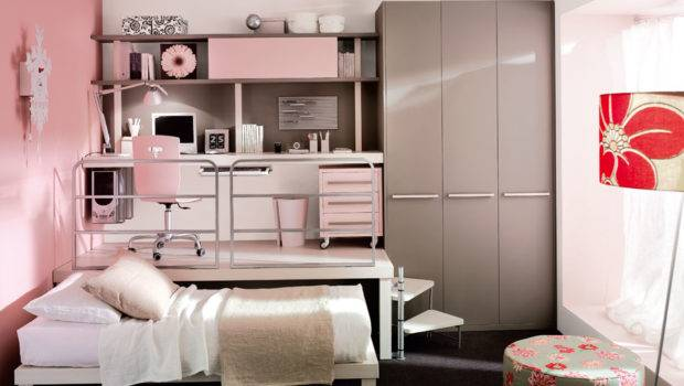 Small Teen Bedroom Design Girl