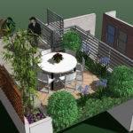 Small Terrace Design Home Decorating Ideas