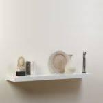 Small White Wall Shelf Nanobuffet