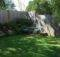 Small Yard Corner Backyard Landscape Landscaping