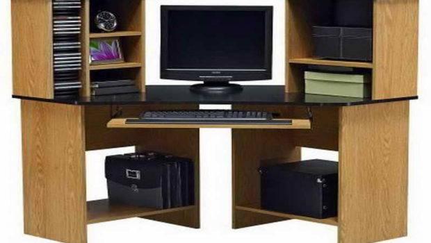 Smart Computer Desks Small Spaces Home Interior Design