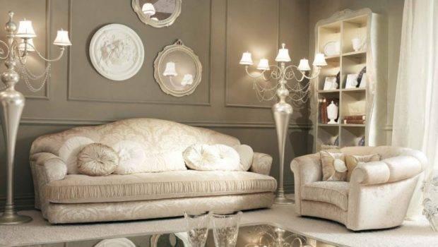 Sofas Luxurious Artistic Floral Decoration Classic Design Ideas