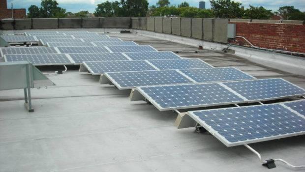 Solar Panels Rooftop Ravenswood Walk Home