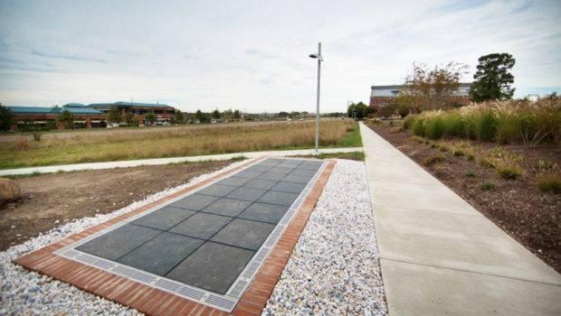 Solar Walk Walkable Paneled Pathway Creates Energy