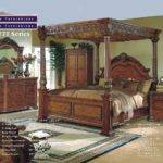 Solid Wood Italian Marble Canopy Bedroom Check Price