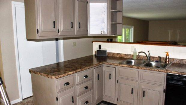 Sophisticated Repainting Kitchen Cabinets