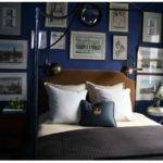 Southern Eclectic Color Crush Navy Bedroom Walls