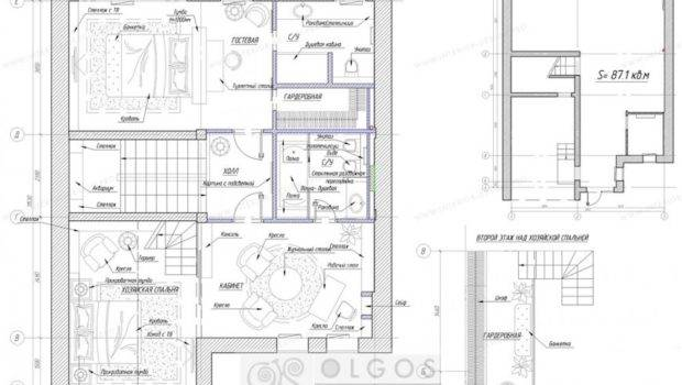 Space Planning Solution Variant House Cottage Mansion Villa