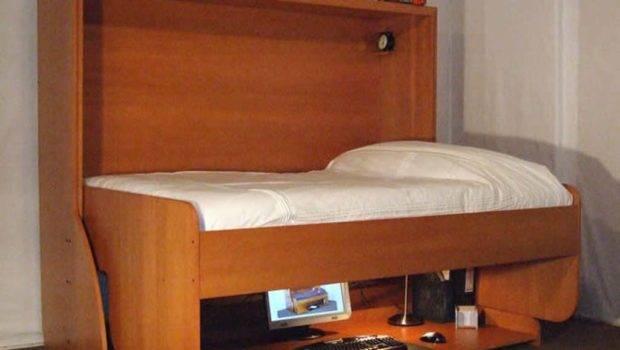 Space Saving Bedroom Furniture Modern Spacesaving Small Home