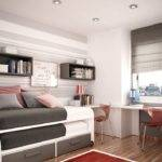 Space Saving Ideas Kids Room Colourful Bedroom Decorating