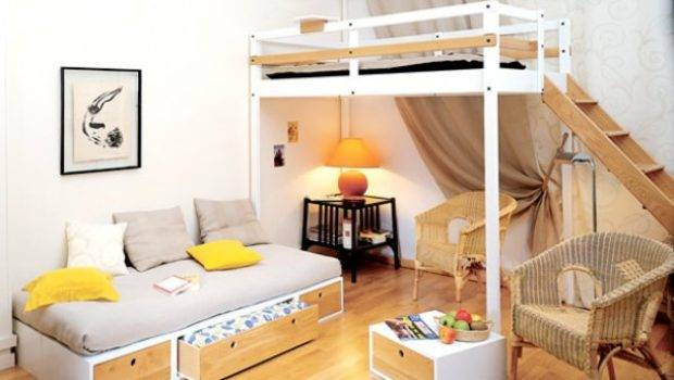 Space Saving Small Bedroom Home Design Garden