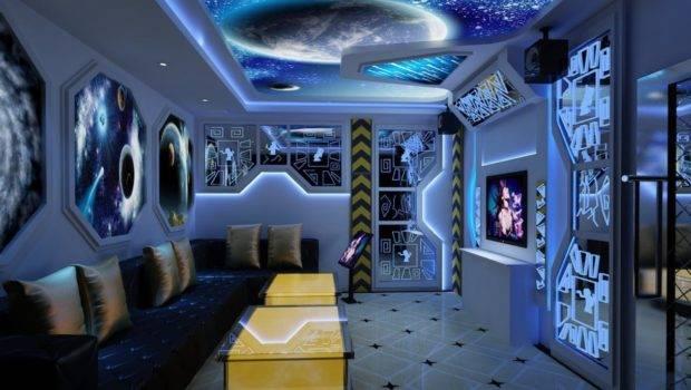 Space Themed Bedroom Industry Standard Design