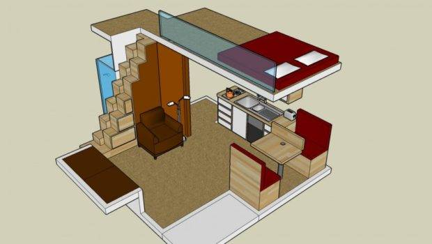 Spaces Small House Loft Plan