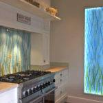 Splashback Kitchen Coloured Glass Bespoke