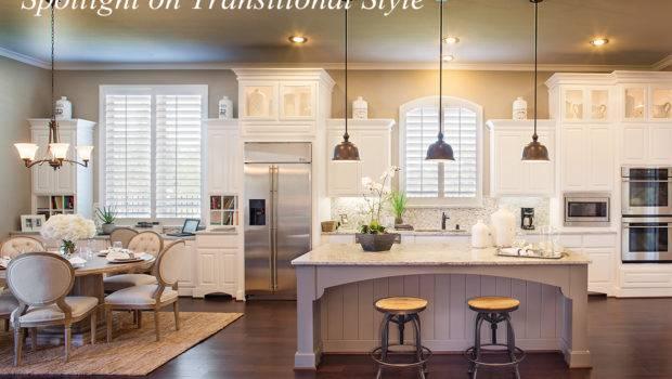 Spotlight Transitional Style Around House