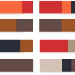 Spring Summer Color Inspirations Rustic Ecolorworld