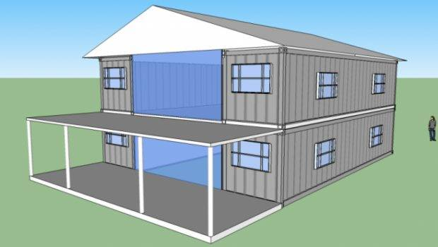 Sqft Story Shipping Container Home