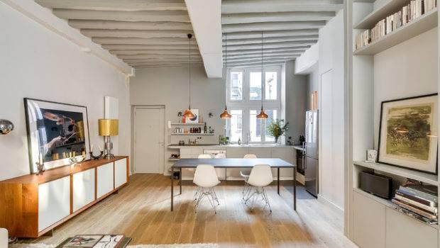 Sqm One Bedroom Apartment Interior Design Idea Home