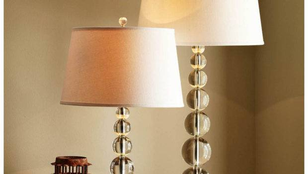 Stacked Crystal Table Bedside Lamp Base