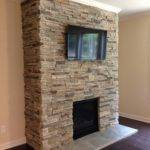 Stacked Stone Fireplace Aifaresidency