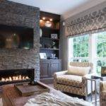 Stacked Stone Fireplace Designs Decors Around Them