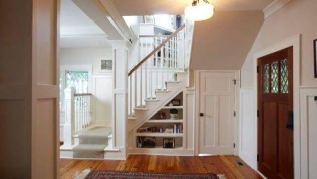 Starecase Designs Under Stairs Storage Space Shelf Ideas