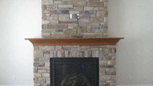 Stone Fireplace Designs Faux Ideas Modern Gas