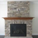 Stone Fireplace Designs Faux Ideas Modern Gas