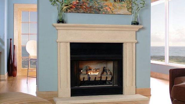 Stone Fireplace Mantels Surrounds Decor Ideas