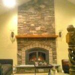 Stone Fireplace Pin Pinterest