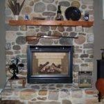 Stone Fireplace Solebury