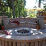 Stonehenge Patio Fire Pit Seat Wall Photos