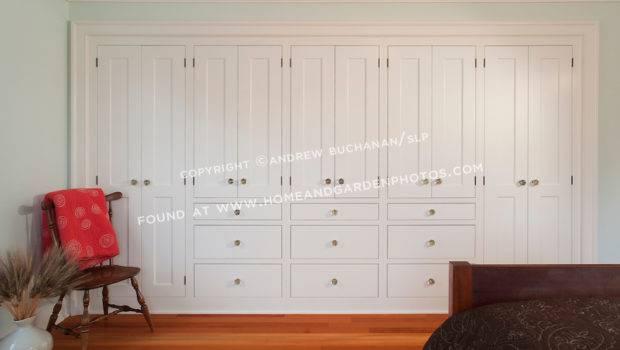 Storage Cabinets Warm Fir Floors Second Floor Guest Bedroom