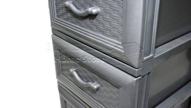 Storage Chest Drawers Unit Tower Organiser Bathroom Drawer Ebay