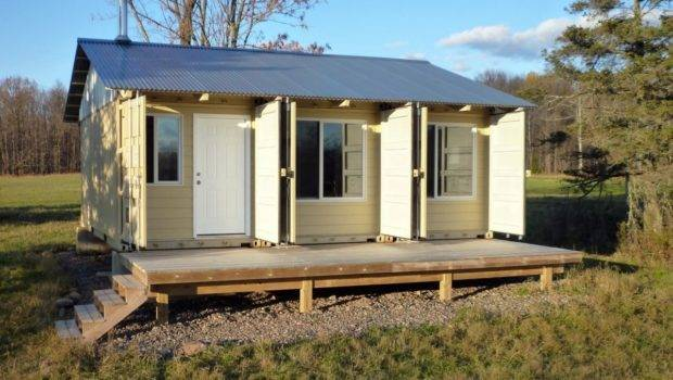 Storage Container Cabins House Design