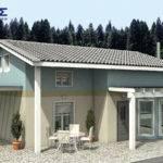 Story House Attic Kofinas Prefabricated Houses Greece