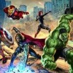 Street Fighting Avengers Marvel Comics