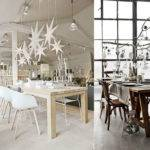 Striking Christmas Decors Modern Dining Room Chairs