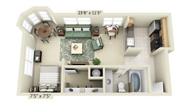 Studio Floor Plan Htjvj