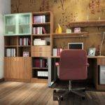Study Room Colors Chinese Calligraphy Wall Designs Gray
