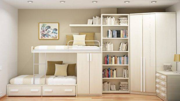 Stunning Bedroom Furniture Small Spaces Home Design White