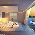 Stunning Master Bedroom Mesmerizing Lighting