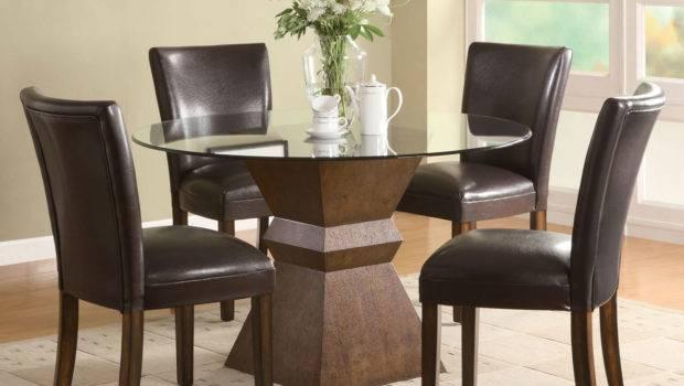 Stunning Simple Round Ding Table Minimalist Dining Room