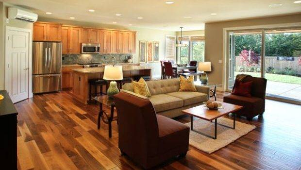 Style Open Plan Living Space
