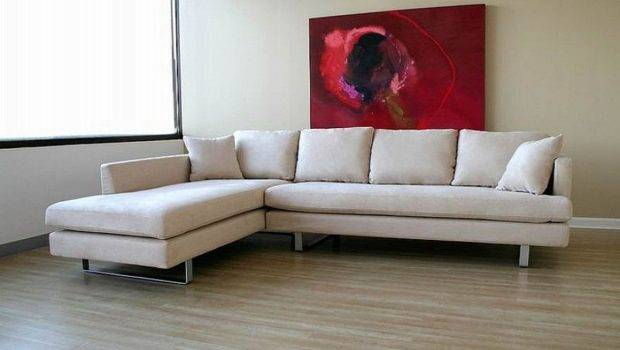Style White Sectionals Sofas Gus Modern Sofa Leather