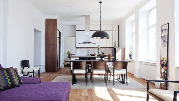 Stylish Small Studio Apartment Stockholm Idesignarch Interior