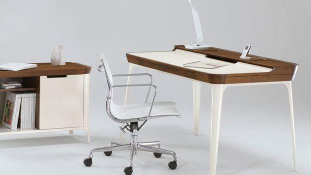 Stylish Work Desk Modern Home Office Kaijustudios Digsdigs