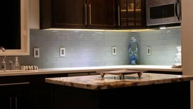 Subway Grey Tile Backsplash Design