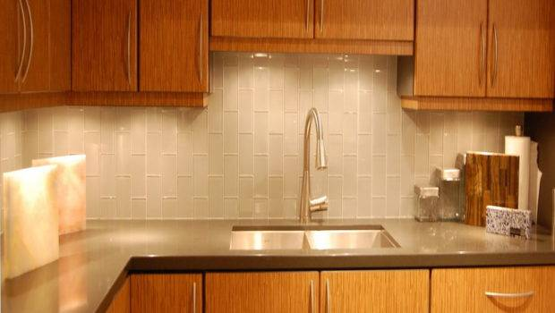 Subway Tile Backsplash Glass Kitchen Ideas