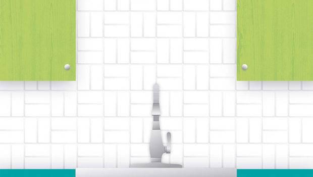 Subway Tile Pattern Guide Crosshatch